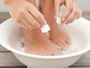 Ванночка для лечения грибка ногтей