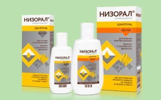 Инструкция по применению таблеток и шампуня Низорал